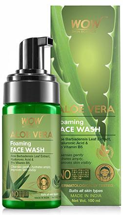 WOW Skin Science AloeVeraFoaming Facewash product