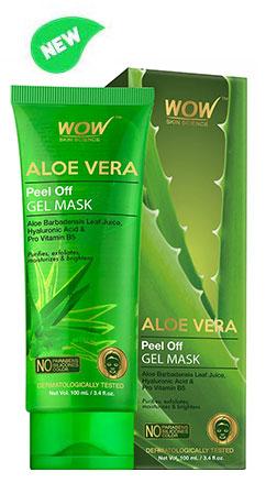 WOW Skin Science Aloe Vera Peel-Off Gel mask