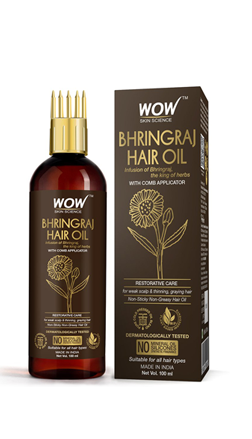 WOW Skin Science Bhringraj Hair Oil