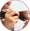 Helps to protect weak, dry and greying hair