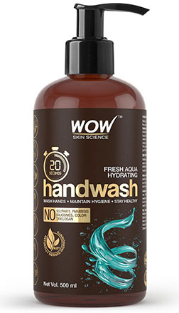 WOW Skin Science FreshAqua Handwash product