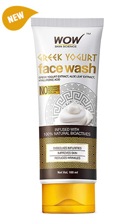 WOW Skin Science Greek Yogurt Face Wash