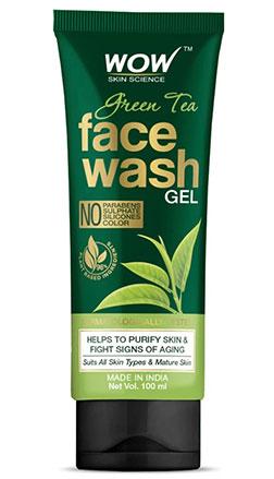 WOW Skin Science GreenTea Facewash product