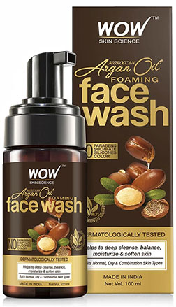 WOW Skin Science MoroccanArganOil Facewash product