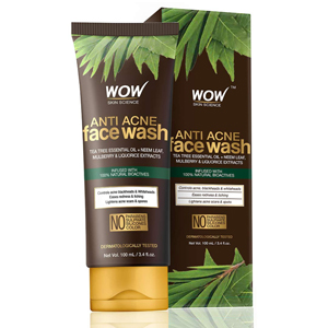 WOW Skin Science Acne Bust-Out Kit With Neem Extracts