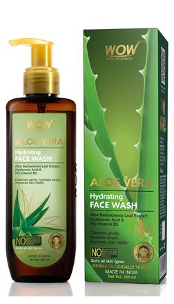 WOW Skin Science Aloe Vera Hydrating Face Wash