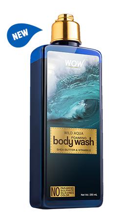 WOW Skin Science Wild Aqua Foaming Body Wash