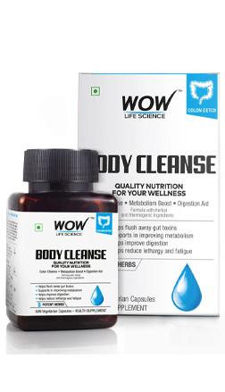WOW Skin Science Body Cleanse Supplement