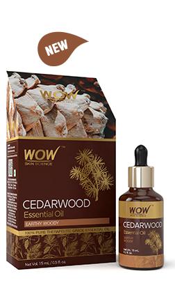 WOW Skin Science Cedarwood Essential Oil