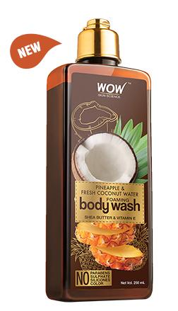 WOW Skin Science Coconut Water & Pineapple Foaming Body Wash