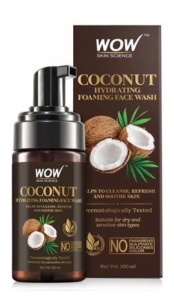WOW Skin Science Coconut Hydrating Foaming Face Wash