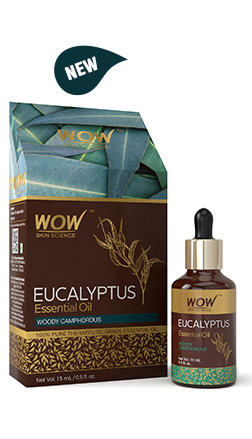 WOW Skin Science Eucalyptus Essential Oil