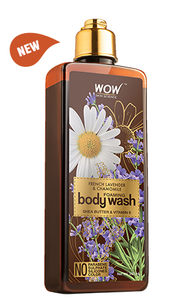WOW Skin Science French Lavender & Chamomile Body Wash