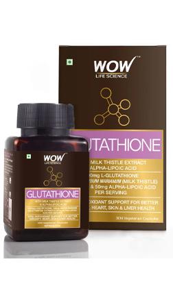WOW Life Science Glutathione Supplement
