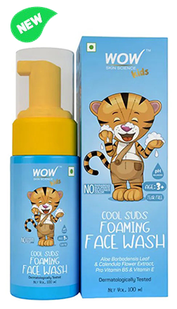 Kids Cool Suds Foaming Face Wash