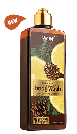 WOW Skin Science Lemon & Pine Body Wash