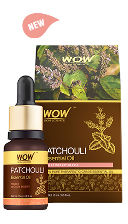WOW Skin Science Patchouli Essential Oil