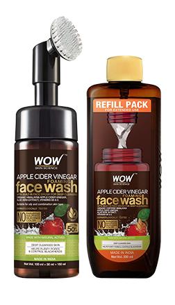 WOW Skin Science APPLE CIDER VINEGAR Facewash product