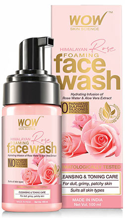 WOW Skin Science Himalayan Rose Facewash product