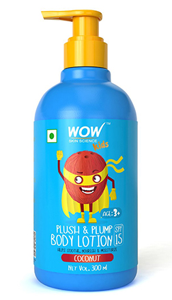 WOW Skin Science Kids Plush & Plump Body Lotion-Coconut-300ml product