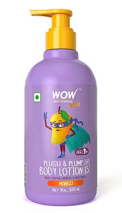 Wow Skin Science Kids Plush & Plump Body Lotion–Mango–300ml product