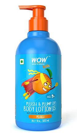 Wow Skin Science Kids Plush & Plump Body Lotion–Peach–300ml product