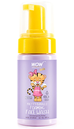WOW Skin Science Kids Pretty Bubbles Foaming FaceWash product