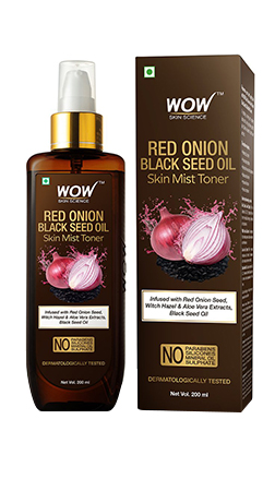 WOW Skin Science Red Onion Black Seed Oil Skin Mist Toner product