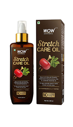 WOW Skin Science Stretch Care Oil product
