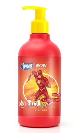 WOW Skin Science Kids Red Speedster 3-in-1 Wash