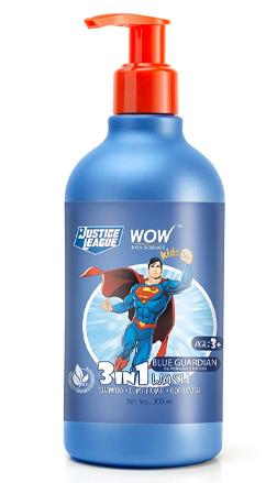 WOW Skin Science Kids Blue Guardian 3-in-1 Wash
