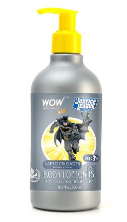 WOW Skin Science Kids Caped Crusader Body Lotion - Batman