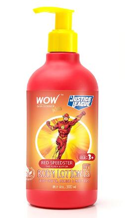 WOW Skin Science Kids Kids Red Speedster Body Lotion