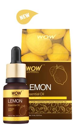 WOW Skin Science Lemon Essential Oil