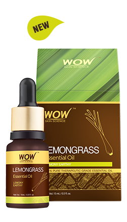 WOW Skin Science Lemongrass Essential Oil