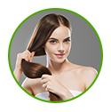 Helps to add strength shine and volume to hair