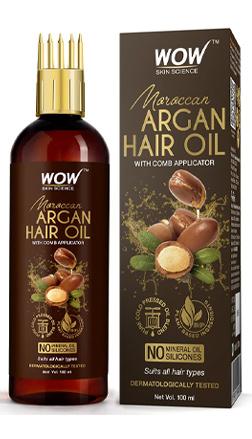 WOW Skin Science Moroccan Argan Hair Oil