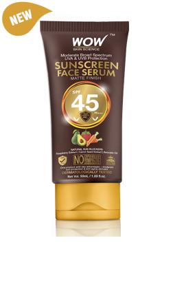 WOW Skin Science Sunscreen Serum SPF 45