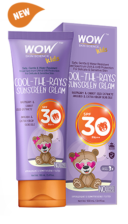 WOW Skin Science Kids Cool -The-Rays Sunscreen Cream